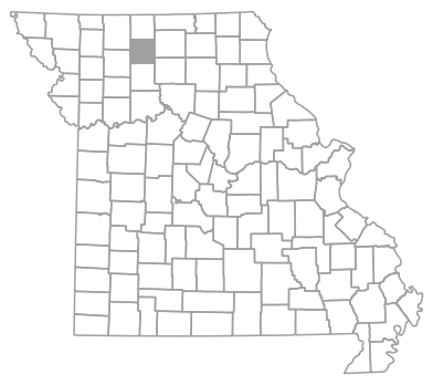 Locator map for Grundy County, Missouri
