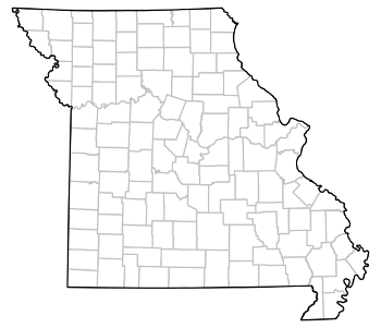 MOHAP Missouri - Missouri county map